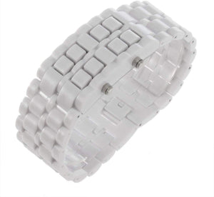 Zeal Sports LED Digital Watch - White - ManKave Gifts & Accessories