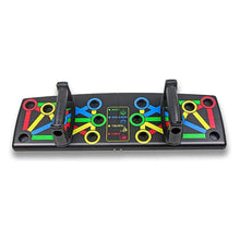 Load image into Gallery viewer, 14 in 1 Push Up Rack Board - Comprehensive Fitness Home Equipment - ManKave Gifts & Accessories