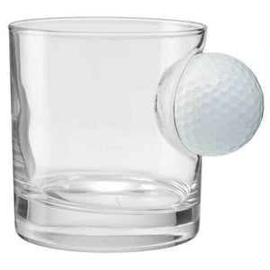 Golf Ball Whiskey Drinks Glasses - Man-Kave