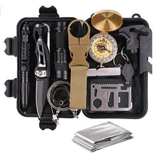 Load image into Gallery viewer, Survival Kit 12 in 1 - Fishing Hunting / SOS / Emergency Camping / Hiking Kit - Man-Kave