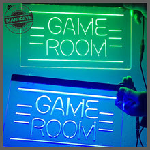 Load image into Gallery viewer, GAME ROOM LED Neon Light Sign - Man-Kave