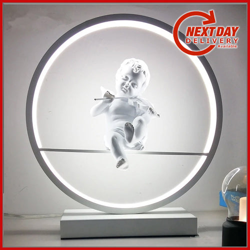 Angel | Cherub LED Table Lamp - Man-Kave