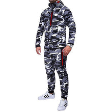 Load image into Gallery viewer, New Camouflage Printed Men's Set - Joggers & Jacket