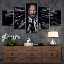 Load image into Gallery viewer, 5 Piece John Wick Poster Wall Art