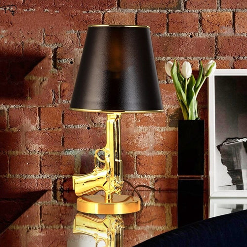 Golden Gun Table Lamp - ManKave Gifts & Accessories