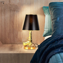 Load image into Gallery viewer, Golden Gun Table Lamp - ManKave Gifts & Accessories