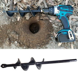Garden Auger Spiral Drill Bit - Electric Drill Ground Bit - ManKave Gifts & Accessories