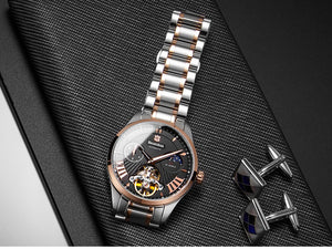 Bestdon Luxury Brand Tourbillon Mens Automatic Watch - ManKave Gifts & Accessories
