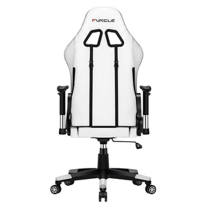 Gaming Chair - White with ultra soft leather - ManKave Gifts & Accessories