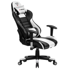 Load image into Gallery viewer, Gaming Chair - White with ultra soft leather - ManKave Gifts & Accessories