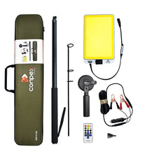 Load image into Gallery viewer, 3M Portable Telescopic LED Flood Light - Fishing / Searchlight / Camping - with Remote Control - ManKave Gifts & Accessories