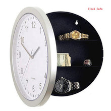 Load image into Gallery viewer, Wall Clock Safe - Hidden  Home Security Storage Box - ManKave Gifts & Accessories