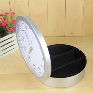 Wall Clock Safe - Hidden  Home Security Storage Box - ManKave Gifts & Accessories