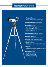 Load image into Gallery viewer, High Quality Refractive 60mm  Kids  Astronomical Telescope - ManKave Gifts & Accessories