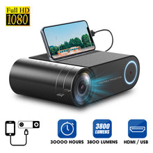 Load image into Gallery viewer, 4K LED Projector Portable 1080P Full HD - Outdoor Home Cinema - ManKave Gifts & Accessories