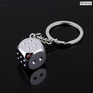New Dice Key Chain - ManKave Gifts & Accessories