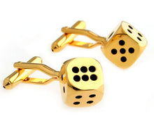 Load image into Gallery viewer, Men's Cuff Links - Poker & Casino theme. - ManKave Gifts & Accessories