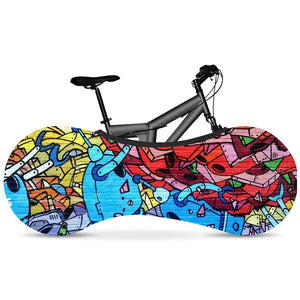 Graffiti Series Cycle Indoor Dust Cover - ManKave Gifts & Accessories