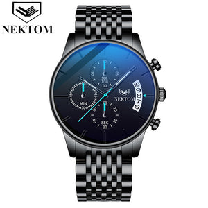 NEKTOM Chronograph Multifunction Mens Watch - ManKave Gifts & Accessories