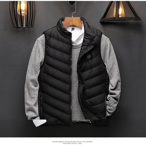 USB Heated Vest - Mens Winter Body Warmer - ManKave Gifts & Accessories