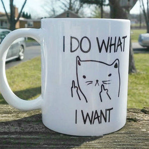 Creative Cat Coffee Mugs - Novelty Gifts - ManKave Gifts & Accessories