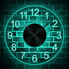 Load image into Gallery viewer, LED Illuminated Wall Clock - Decorative Acrylic Round Wall Hanging Clock for your Home - ManKave Gifts & Accessories