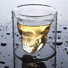 Load image into Gallery viewer, Skullhead Whiskey Tequila Shot Glass - ManKave Gifts & Accessories