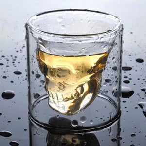 Skullhead Whiskey Tequila Shot Glass - ManKave Gifts & Accessories