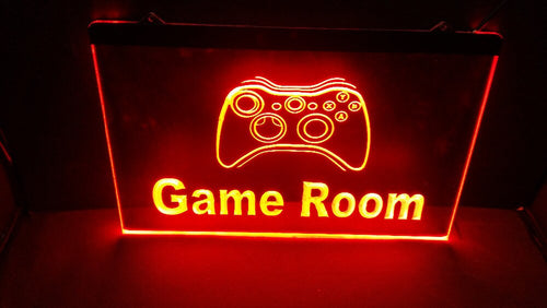 Game Room LED sign - ManKave Gifts & Accessories