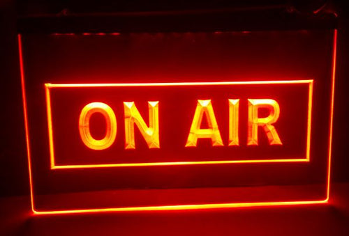 On Air Studio LED Light Sign - ManKave Gifts & Accessories