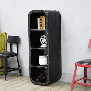 Loft Industrial 4-Layer Bookcase - Storage Cabinet - ManKave Gifts & Accessories