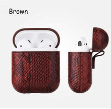 Load image into Gallery viewer, Snake Skin Case For Apple AirPods - ManKave Gifts & Accessories
