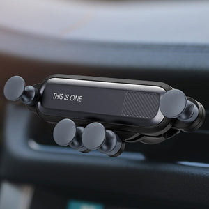 Gravity Car Phone Holder For All Phones - Car Air Vent Mount Car Holder - ManKave Gifts & Accessories