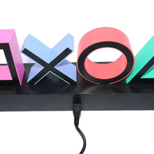 Load image into Gallery viewer, PS Game Icon Light Acrylic Decorative Lamp - Playstation Lamp - ManKave Gifts & Accessories