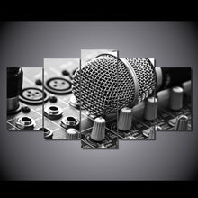 Load image into Gallery viewer, Music / Microphone Painting Canvas Set - ManKave Gifts & Accessories