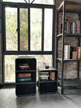 Load image into Gallery viewer, 2-Tier Steel Industrial Open Storage Book Shelf - ManKave Gifts & Accessories