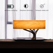 Load image into Gallery viewer, Tree Light Table Lamp with Bluetooth Music Speaker & Wireless Charging(QI) - ManKave Gifts & Accessories