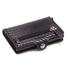 Load image into Gallery viewer, RFID Metal Card Holder Wallet - Carbon Fibre Wallet - ManKave Gifts & Accessories