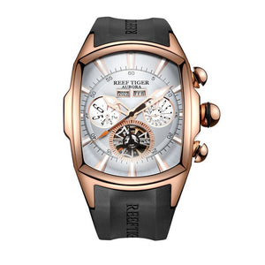 Reef Tiger Top Brand Luxury Mens Watch - Large  Dial - ManKave Gifts & Accessories