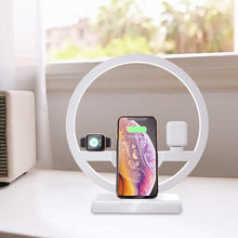 Load image into Gallery viewer, Modern Apple Charging Dock & Lamp