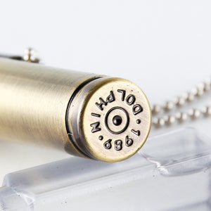 Bullet Lighter - Keychain pendant Cigarette Lighter - ManKave Gifts & Accessories