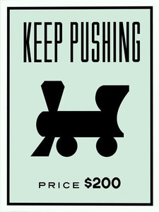 Monopoly Art Canvas - Inspirational Quotes - Man-Kave