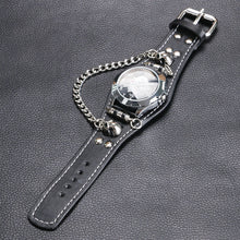 Load image into Gallery viewer, Punk Skull Bracelet Quartz Watch