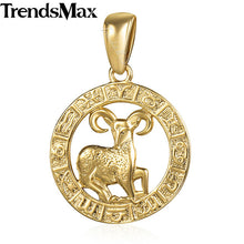 Load image into Gallery viewer, Zodiac Sign Constellations Pendant Necklaces For Men - ManKave Gifts & Accessories