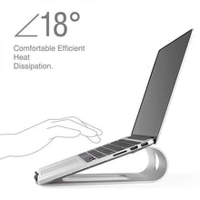 Load image into Gallery viewer, Portable Aluminium Laptop Stand for Macbook Pro/Air Stand - Man-Kave