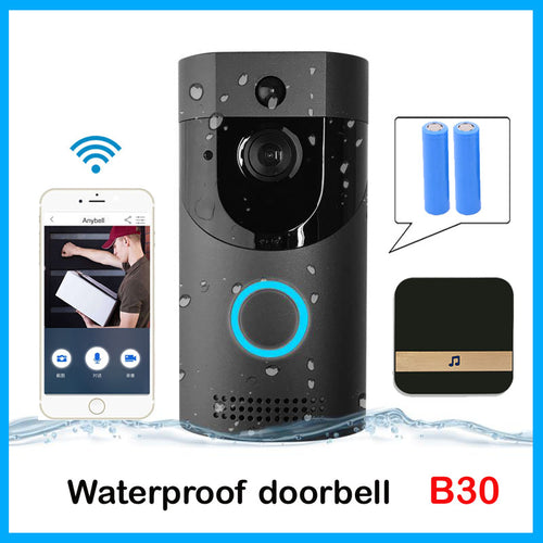 Video WIFI Doorbell - IP65 waterproof Smart video Door chime - ManKave Gifts & Accessories