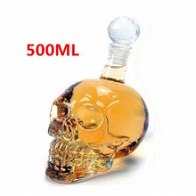 Load image into Gallery viewer, Creative Skull Glass Whisky Decanter - ManKave Gifts & Accessories