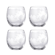 Load image into Gallery viewer, Drinks Globe Decanter Set -  Whiskey Drink Bottle & Glasses