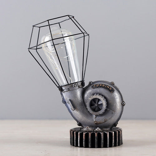 American Style Industrial Table Lamp - ManKave Gifts & Accessories