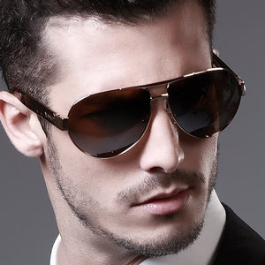 Aviator Oversized Pilot Style Sunglasses for Men